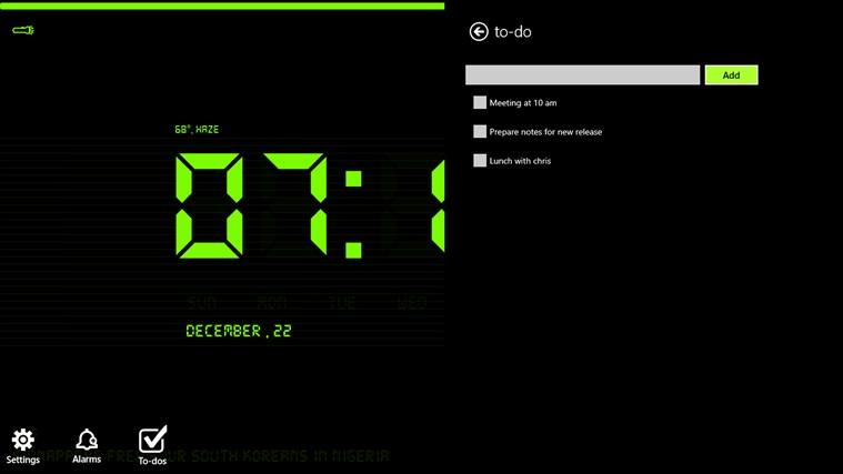 Digital Nightstand screen shot 6