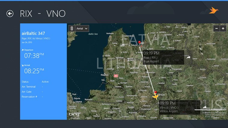 Vilnius Airport + Flight Tracker gabháil scáileáin 4