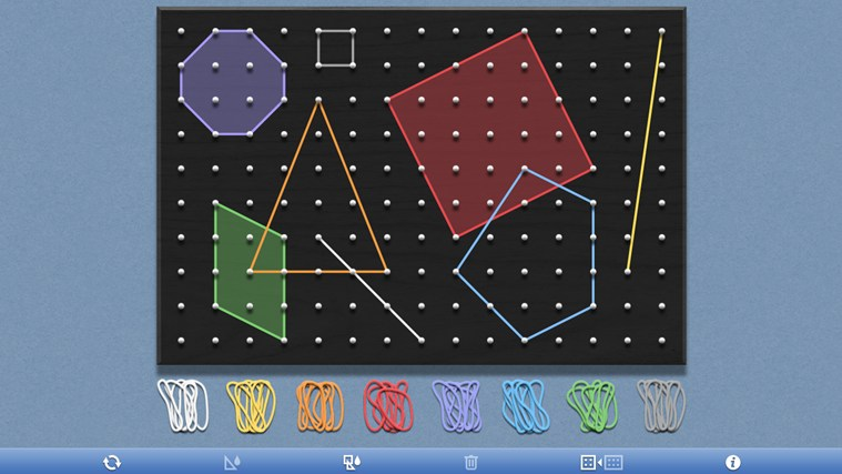 Geoboard, by the Math Learning Center screen shot 0