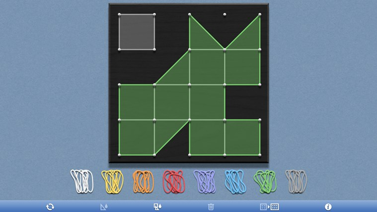Geoboard, by the Math Learning Center screen shot 2