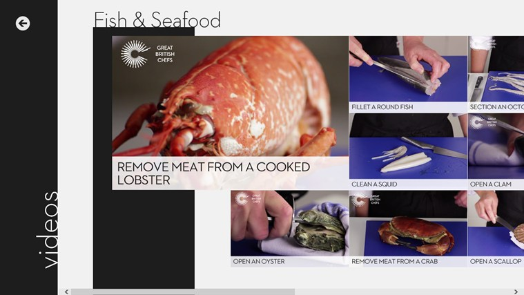 Great British Chefs screen shot 4