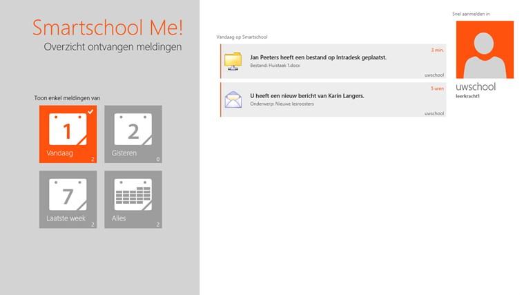 Smartschool Me! schermafbeelding 4