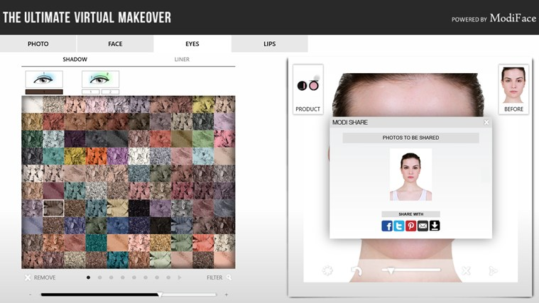 Makeover screen shot 4