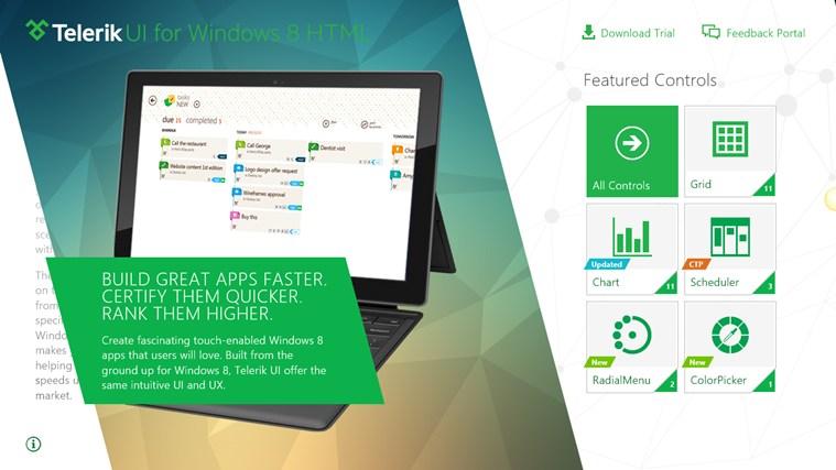 Telerik Controls Examples (HTML) screen shot 0