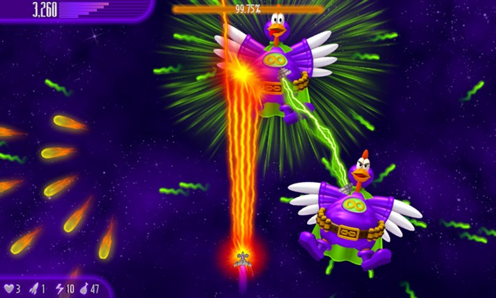 Chicken Invaders 4 screen shot 0