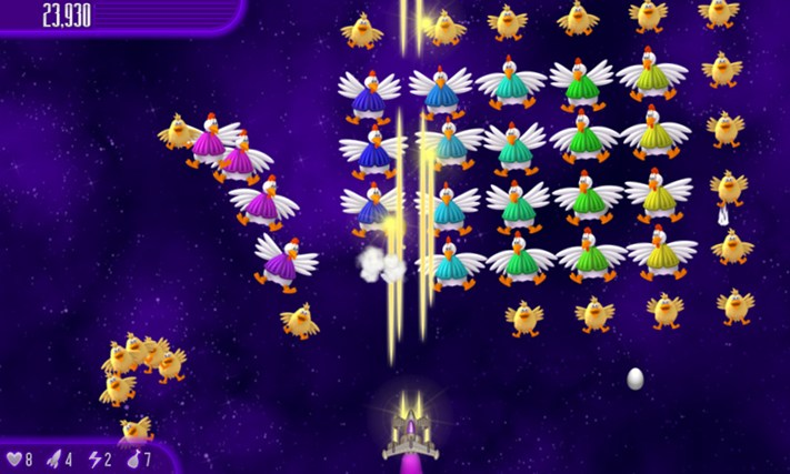 Chicken Invaders 4 screen shot 2