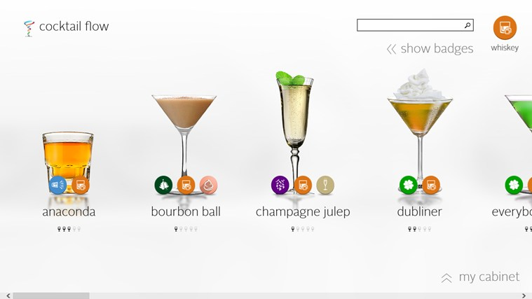 Cocktail Flow screen shot 2