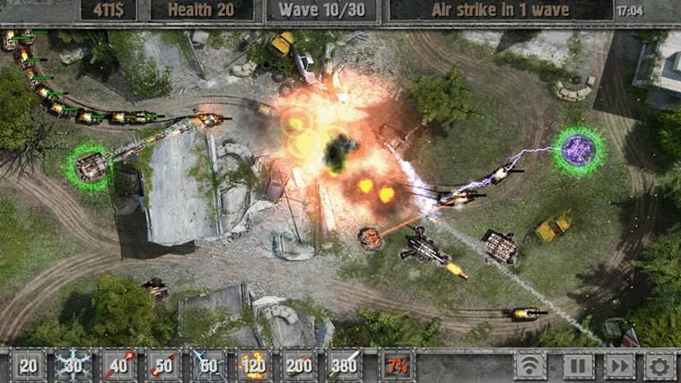 Defense zone 2 screen shot 0