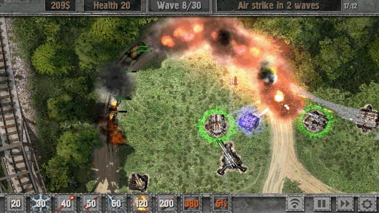 Defense zone 2 screen shot 4