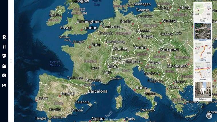HERE Maps näyttökuva 2