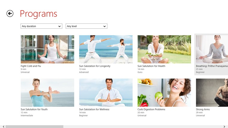 Yoga.com Studio: 300 Poses & Video Classes screen shot 2