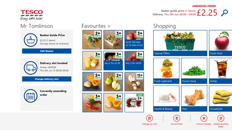 Tesco Groceries screen shot 6
