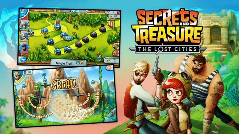 Secrets And Treasure: The Lost Cities screen shot 0