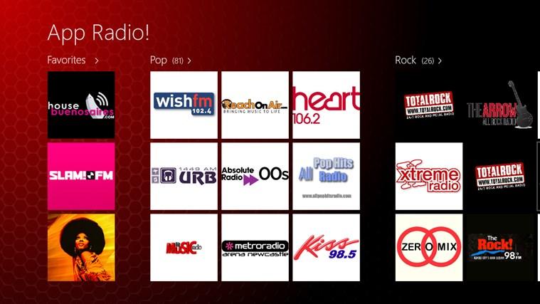 App Radio screen shot 0