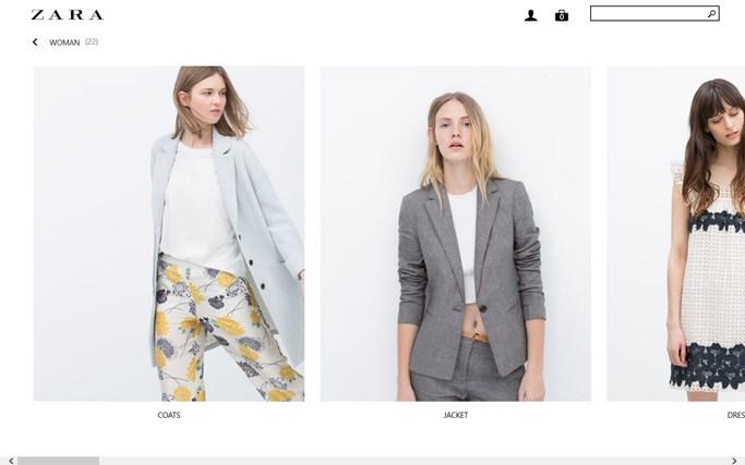 Zara näyttökuva 2