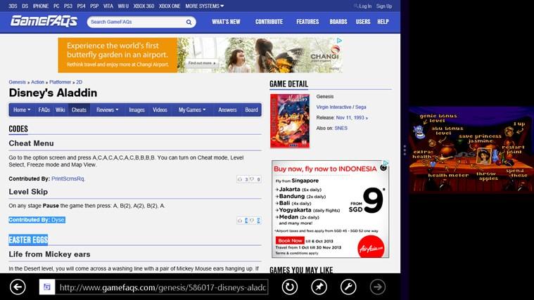 Genstalgia screen shot 6