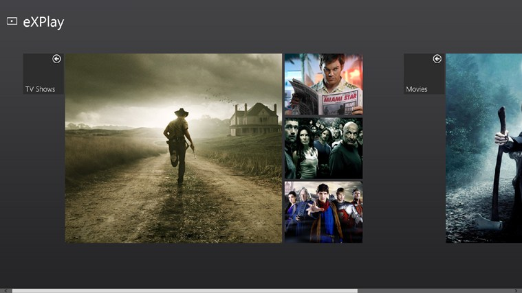 eXPlay full screenshot