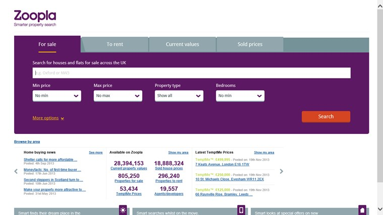 Zoopla Property Search screen shot 0
