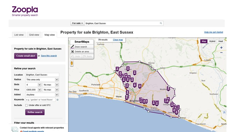 Zoopla Property Search screen shot 4