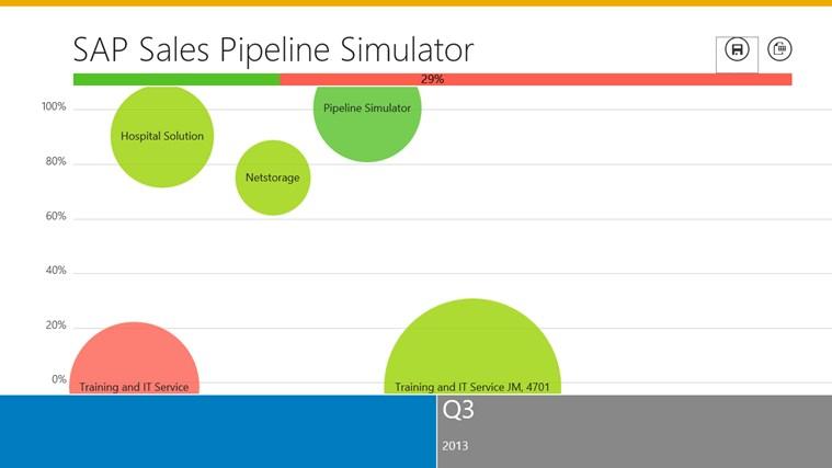 SAP Sales Pipeline Simulator screen shot 0