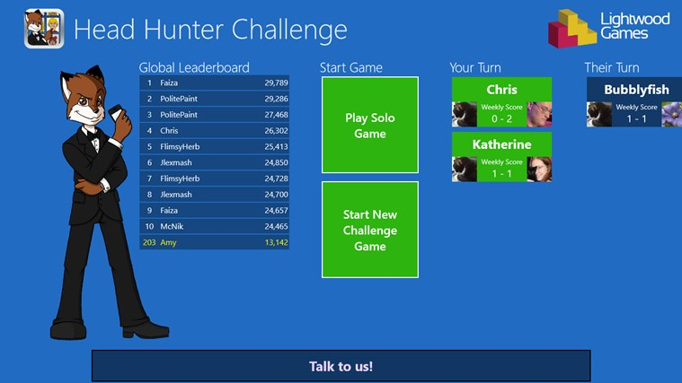 Head Hunter Challenge screen shot 2