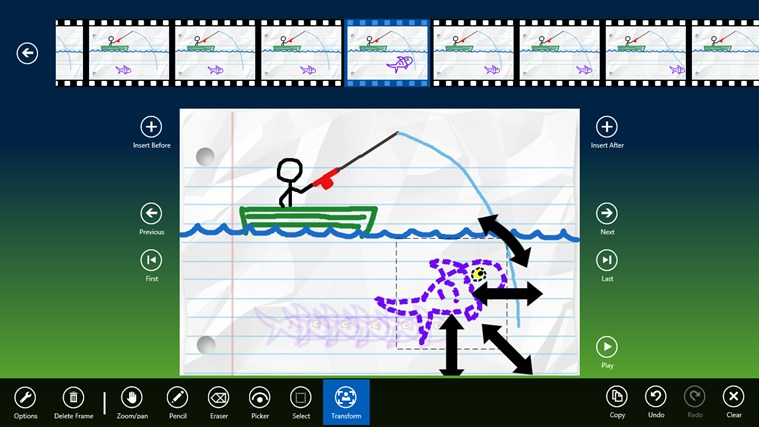 Doodleinator Free screen shot 2