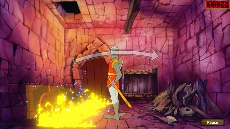 Dragon's Lair screen shot 6