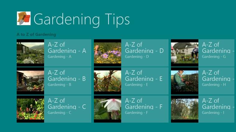 Gardening Tips screen shot 0