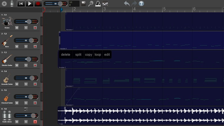 Recording Studio Pro skjermbilete 0