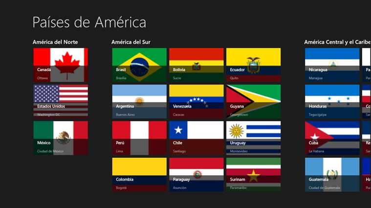 gobierno de los paises americanos: