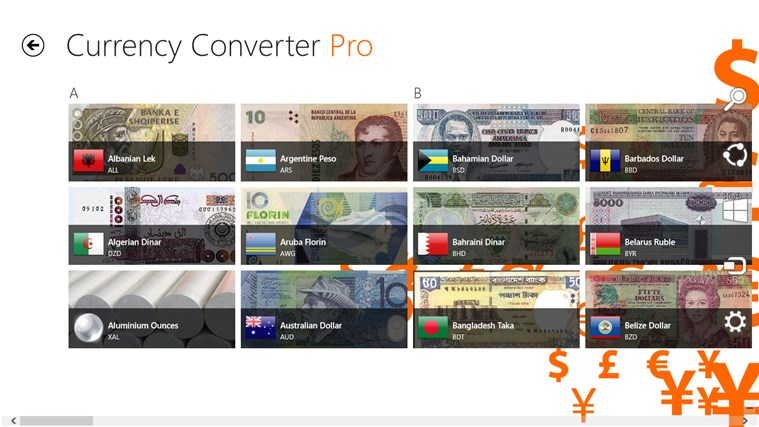 Currency Converter Pro צילום מסך 4