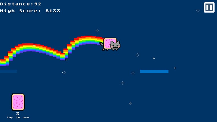 Nyan Cat The Game screen shot 0