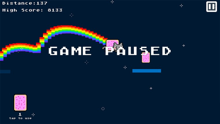 Nyan Cat The Game screen shot 2