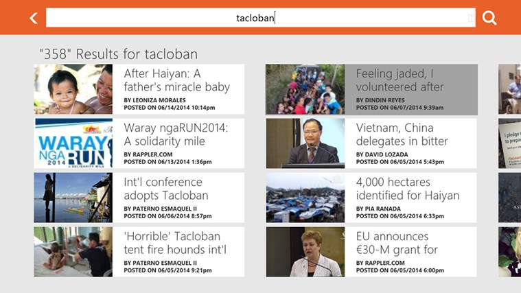 Rappler screen shot 8