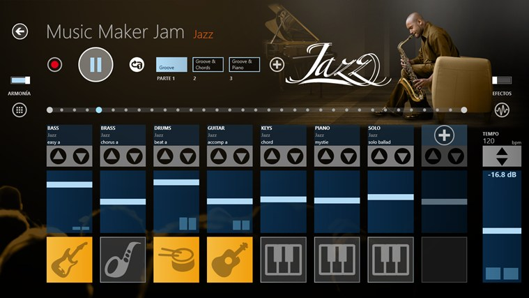 Music Maker Jam captura de pantalla 2