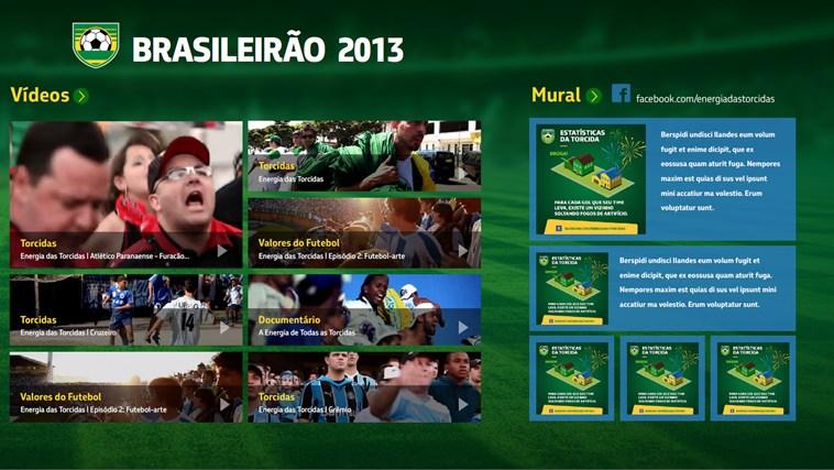 Campeonato Brasileiro 2013 captura de tela 2