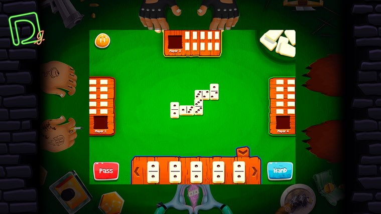 Domino Gang screen shot 2