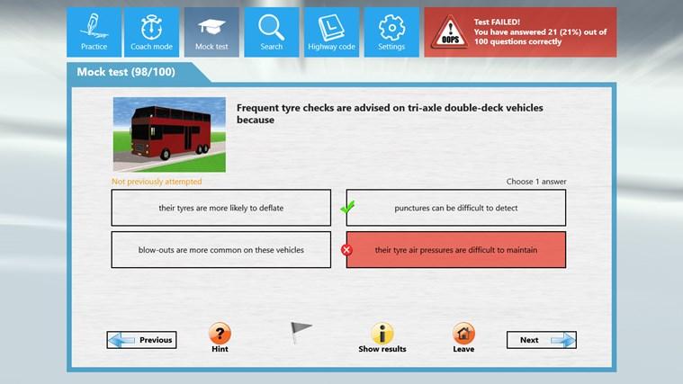PCV Theory Test cattura di schermata 4