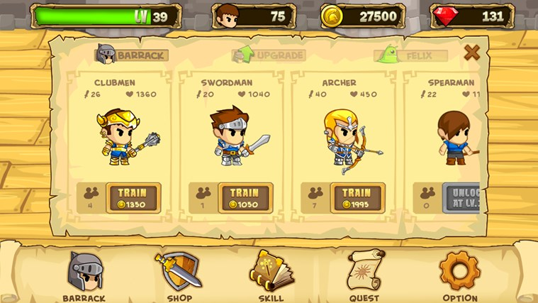 Pocket Army™ screen shot 4
