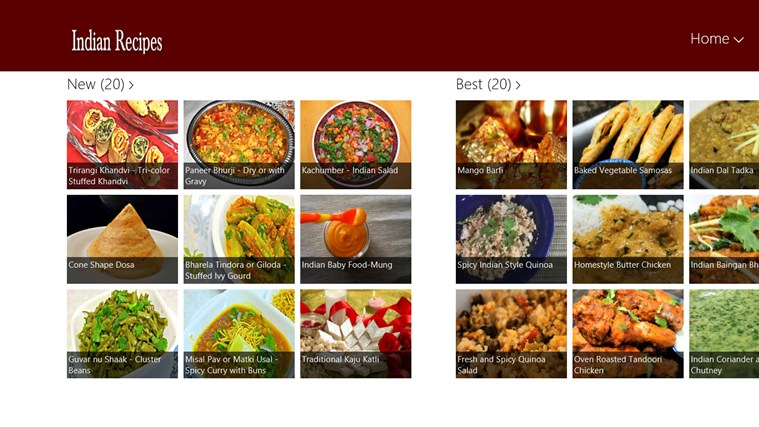 Indian Recipe Screenshot 0