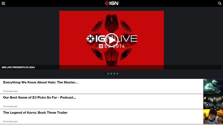 IGN Mobile screen shot 2