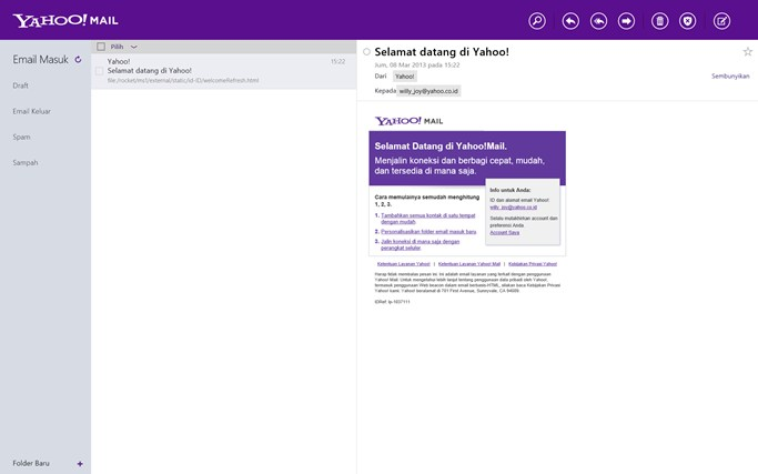 Yahoo! Mail screenshot 0
