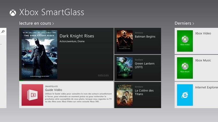 Xbox 360 SmartGlass capture d'écran 0