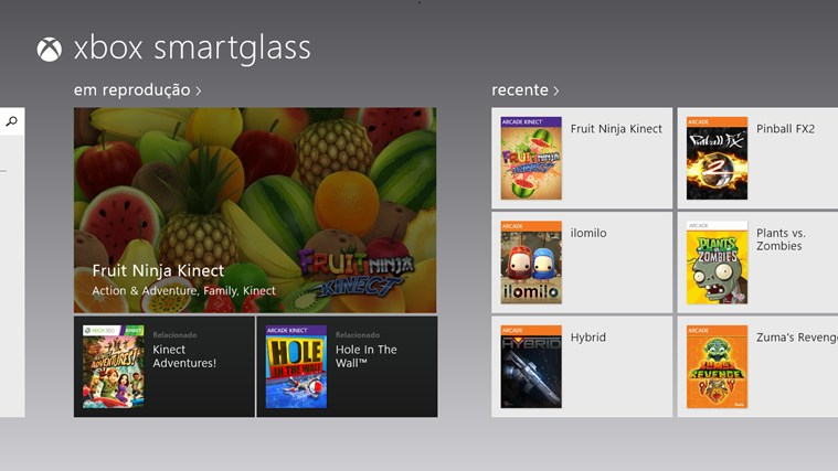 Xbox 360 SmartGlass captura de tela 0