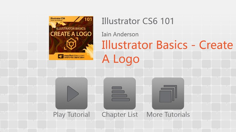 Illustrator CS6 Basics - Create A Logo screen shot 0