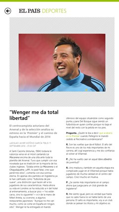 El País screen shot 4