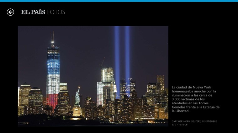 El País screen shot 6