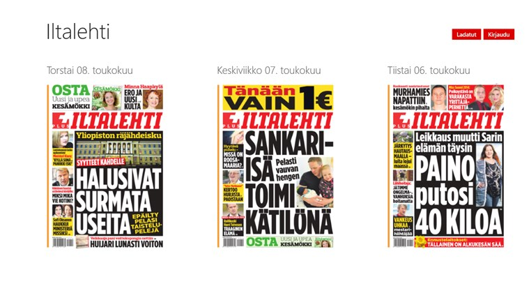 Iltalehti - Päivän lehti näyttökuva 0