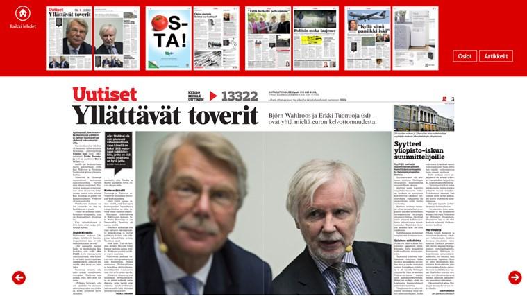 Iltalehti - Päivän lehti näyttökuva 2