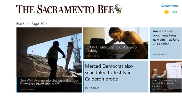 The Sacramento Bee screen shot 0